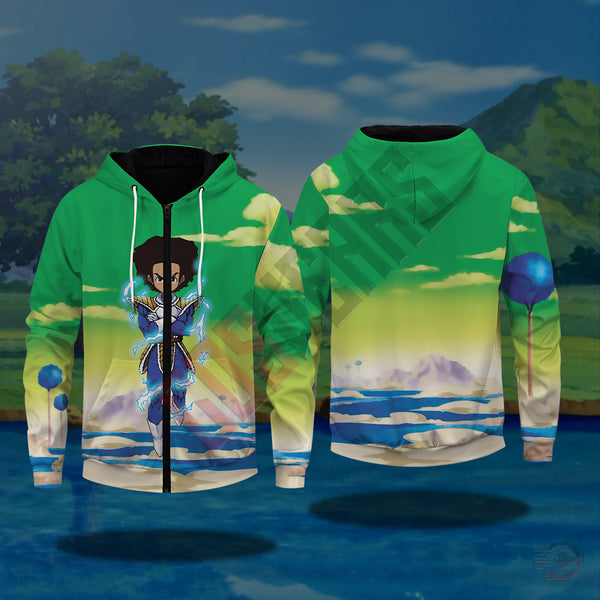 Dragonball Z : Fan Art Zipped Hoodie