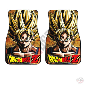Dragon Ball Z : Son Goku Car Floor Mat