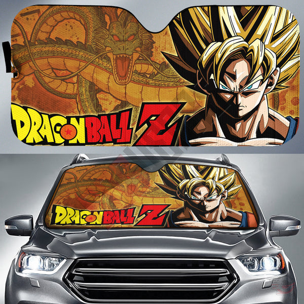 Dragon Ball Z : Son Goku Car Sun Shade
