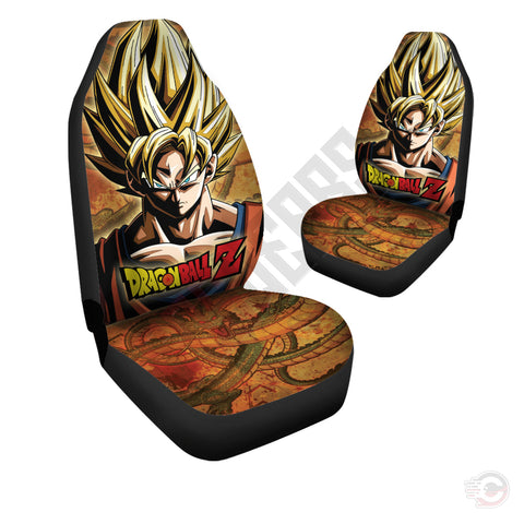 Dragon Ball Z : Son Goku Car Seat Cover