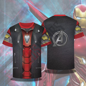 Double Effect : Iron Man T-Shirt
