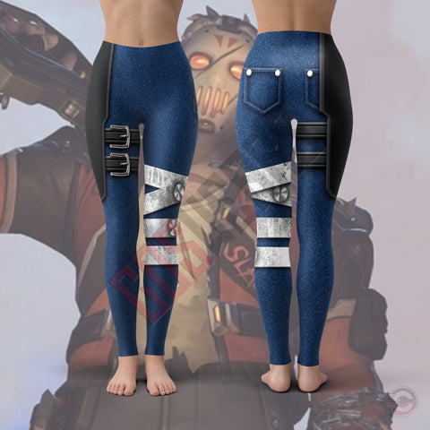 Double Effect Hoodie : Overwatch Soldier Slasher Leggings