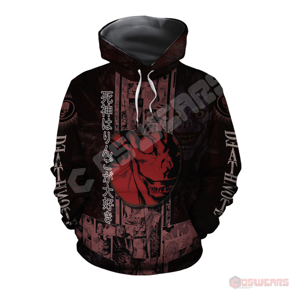Death Note - Apple Pullover Hoodie