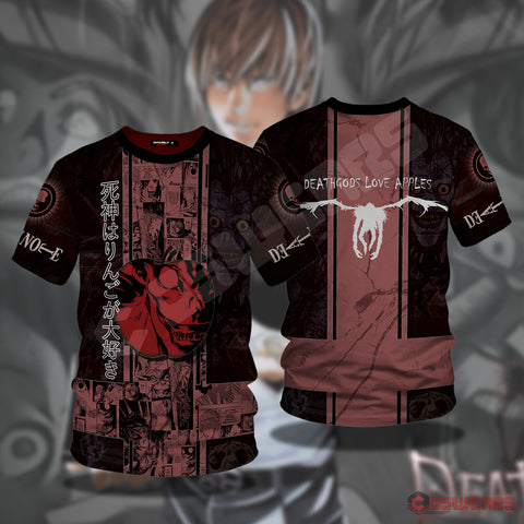 Death Note - Apple T-Shirt