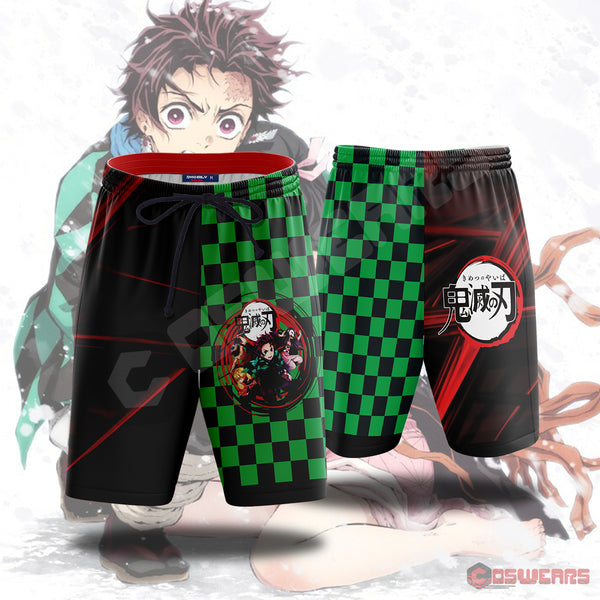 Demon Slayer - Demon Slayer Beach Shorts