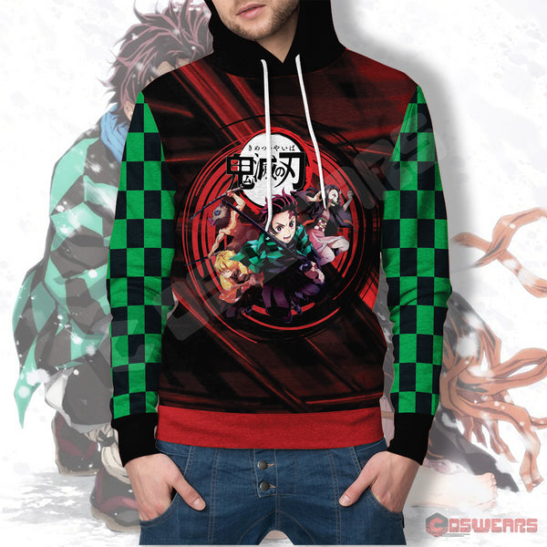 Demon Slayer - Demon Slayer Pullover Hoodie