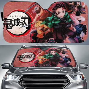 Demon Slayer : Sons Of Urokodaki Car Sun Shade
