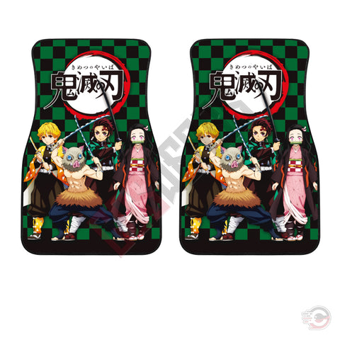 Demon Slayer : Tanjiro And Friends Car Floor Mat