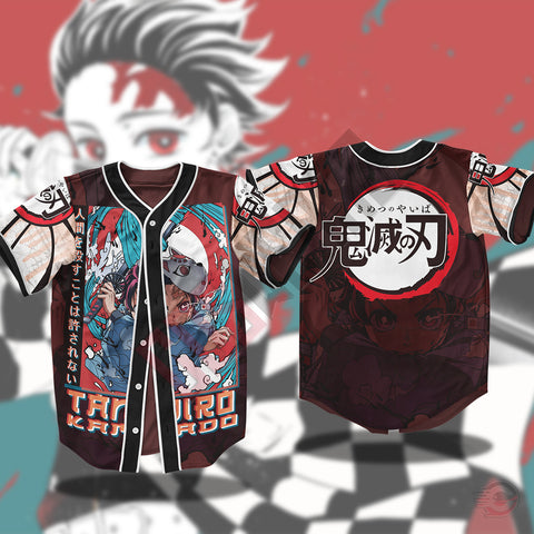 Demon Slayer : Kamado Tanjiro Jersey Shirt