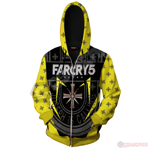 Far Cry - Joseph Is Calling Zipped Hoodie