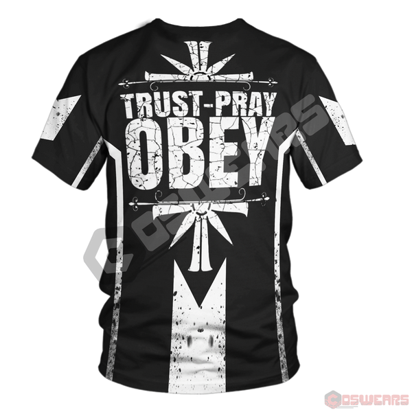 Far Cry - Trust Pray Obey T-Shirt