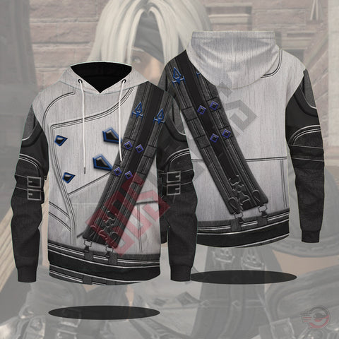 Final Fantasy : Thancred Waters Final Fantasy XIV Pullover Hoodie