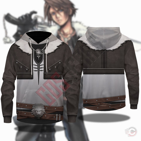 Final Fantasy : Squall Leonheart Pullover Hoodie