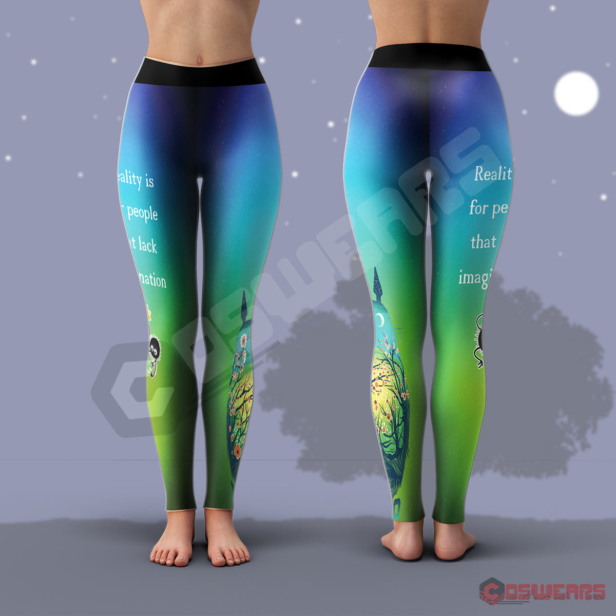 Totoro And Friends : Studio Ghibli Leggings