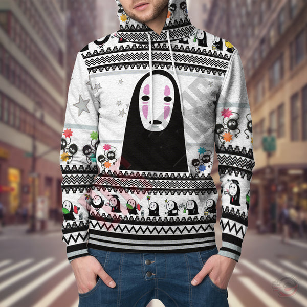 Ghibli : No Face Pullover Hoodie