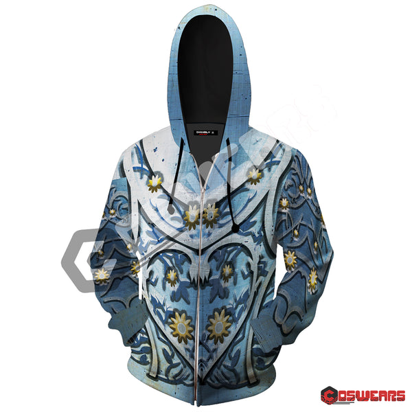 Game of Thrones - Tyrell Armor Inspired Zipped Hoodie