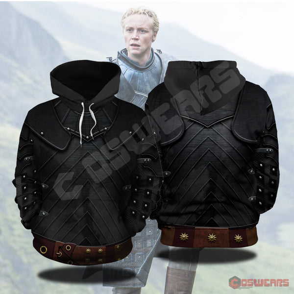 Game of Thrones - Brienne of Tarth Inspired Pullover Hoodie