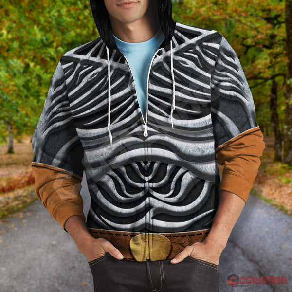 Game of Thrones - White Walker Inspired Zipped Hoodie
