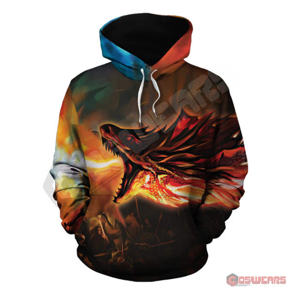 Game of Thrones Fire and Ice Pullover Hoodie