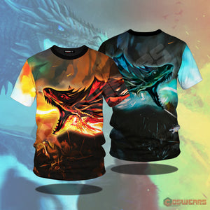 Game of Thrones Fire and Ice T-Shirt