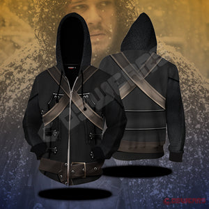 Game of Thrones Night's Watch Zipped Hoodie