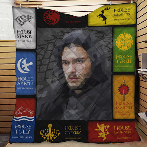 Game of Thrones Jon Snow Quilt