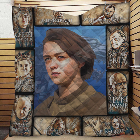 Game of Thrones Arya Stark Quilt
