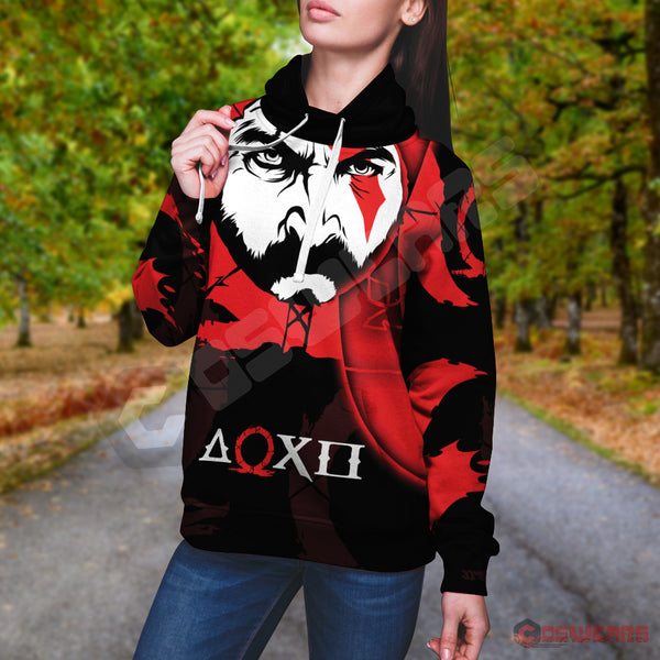God of War: Kratos Inspired Pullover Hoodie
