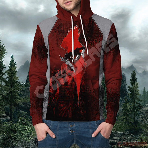 God of War Logo Pullover Hoodie