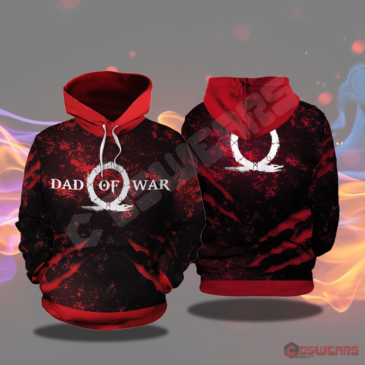 God of War: Dad of War Pullover Hoodie