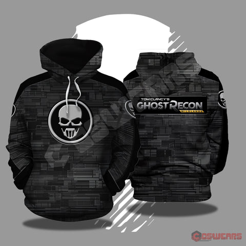 Ghost Recon Logo Inspired Pullover Hoodie