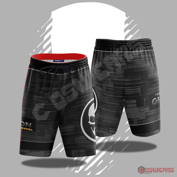 Ghost Recon Logo Inspired Beach Shorts