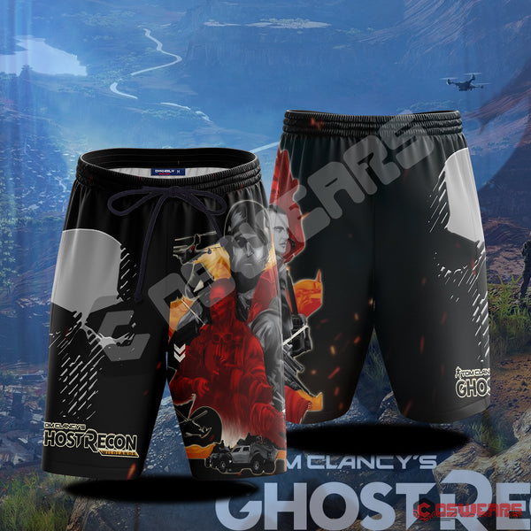 Ghost Recon: Wildlands Inspired Beach Shorts