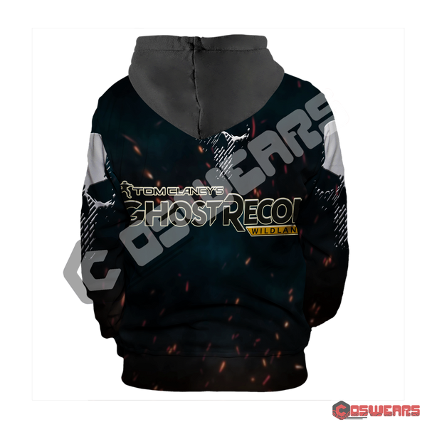 Ghost Recon: Wildlands Inspired Pullover Hoodie