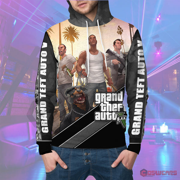 Grand Theft Auto : GTA 5 Inspired Pullover Hoodie