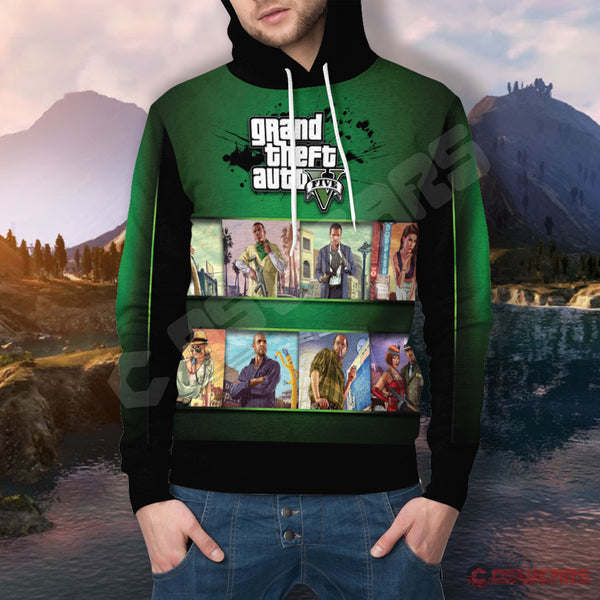 Grand Theft Auto : GTA Inspired Pullover Hoodie
