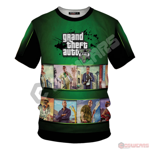 Grand Theft Auto : GTA Inspired T-Shirt