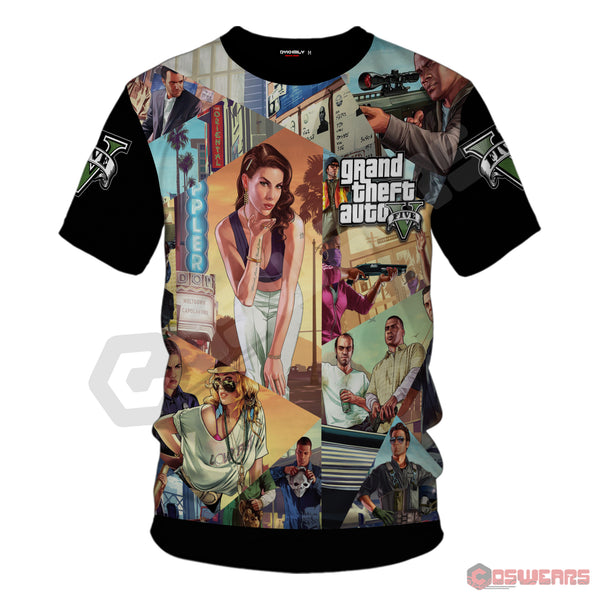 Grand Theft Auto : GTA V Inspired T-Shirt