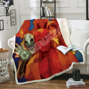 Hellboy The Golden Army Blanket