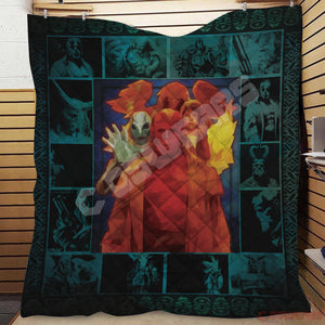Hellboy The Golden Army Quilt