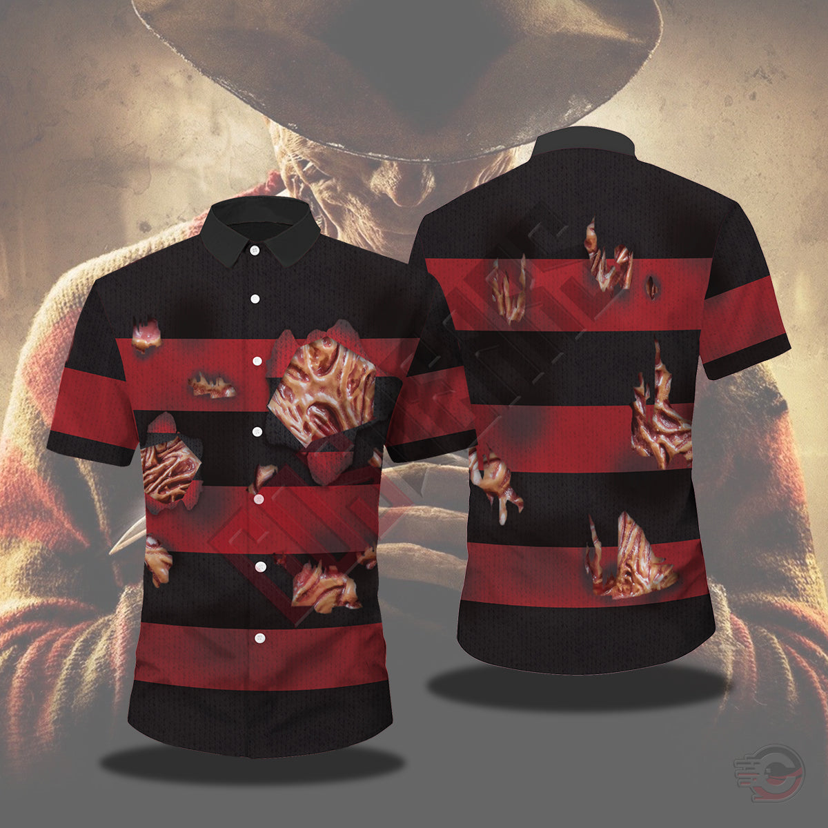 Halloween Collection : Freddy Krueger Chemise