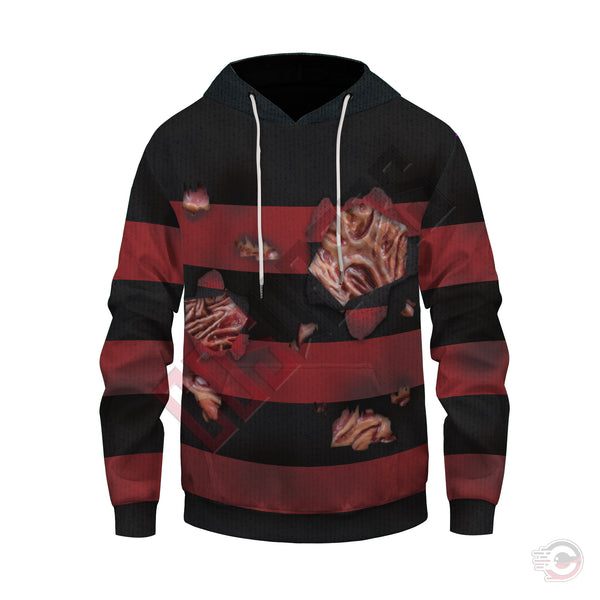 Halloween Collection : Freddy Krueger Pullover Hoodie