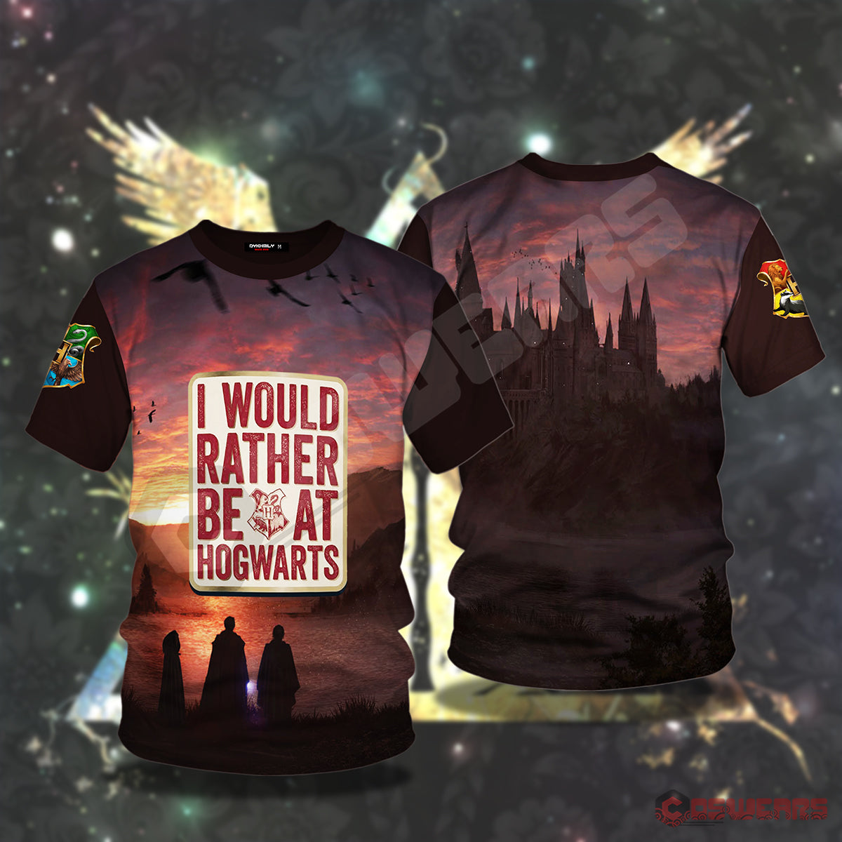 Harry Potter I'd Rather Be At Hogwartz T-Shirt