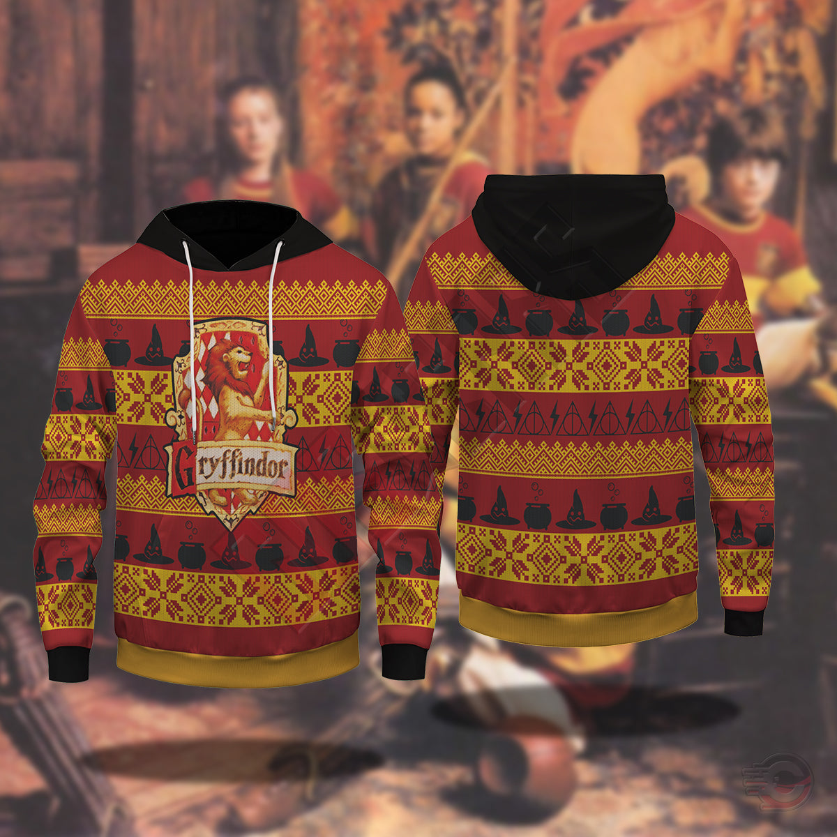 Harry Potter  : Gryffindor Pullover Hoodie