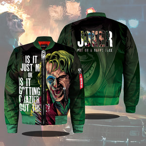 The Joker Bomber Jacket