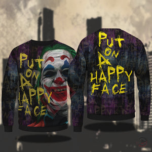 The Joker : Put on a Happy Face Sweatshirt