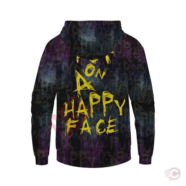 The Joker : Put on a Happy Face Pullover Hoodie