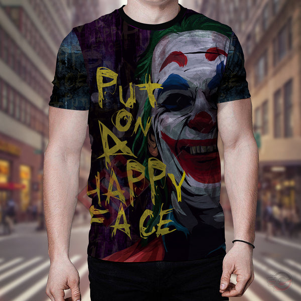 The Joker : Put on a Happy Face T-Shirt