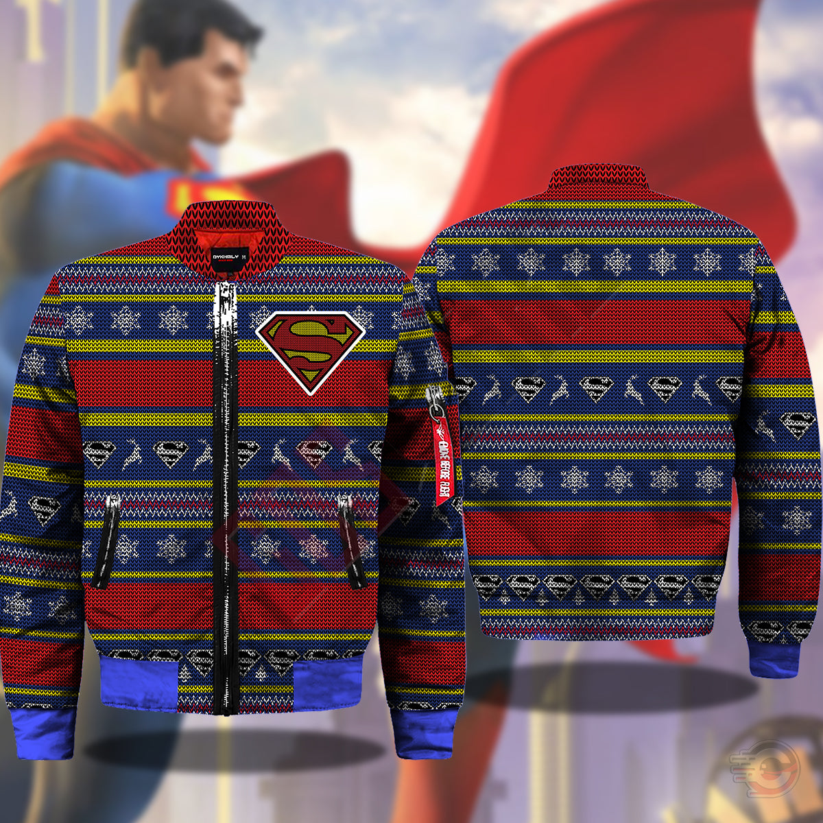 Justice League : Superman Bomber Jacket