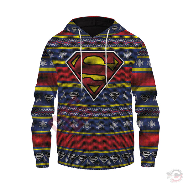 Justice League : Superman Pullover Hoodie